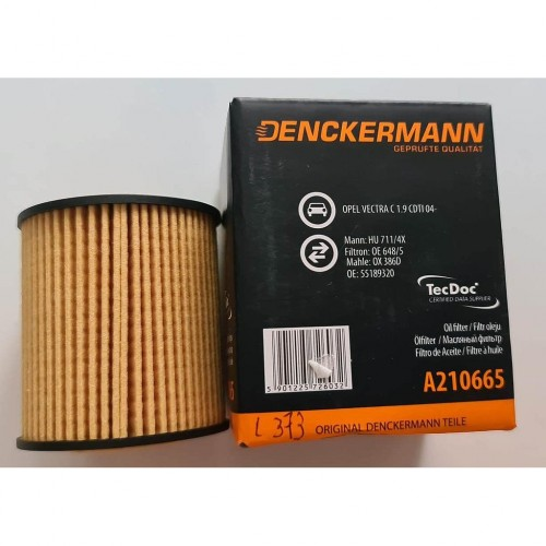 Filtro aceite Fiat Opel Vauxhall SAAB L373 A210665 5901225726032  FILTRO ACEITE